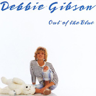 "Debbie Gibson's ""Out of the Blue"" album released in 1987"