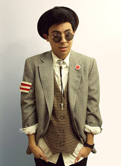 Duckie Dale costume (photo credit: little fille)