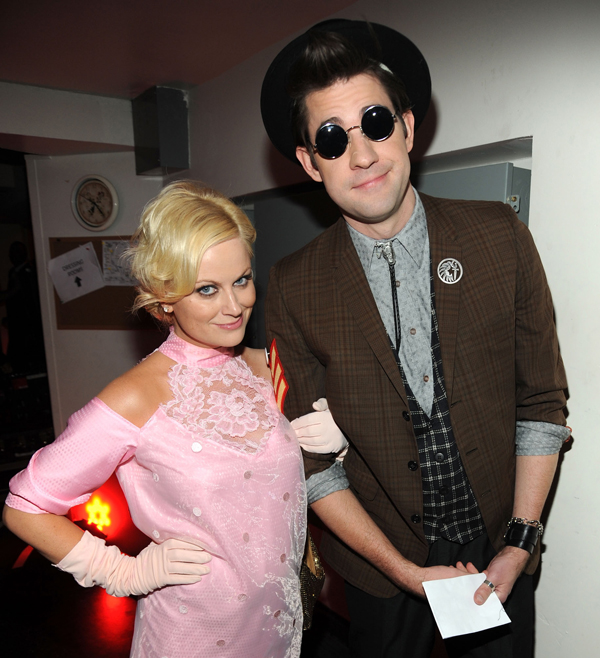 Amy Poehler as Pretty in Pink's Andie Walsh and John Krasinski as Duckie Dale (photo credit: Red Carpet Roxy)