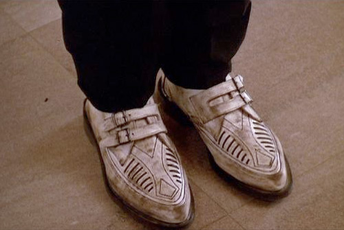 Duckie Dale's shoes