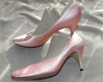 80s dyed prom shoes