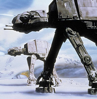 Emperial At-Ats attack