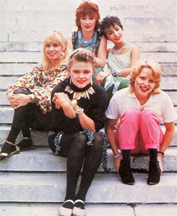 80s costume idea: The Go-Go's