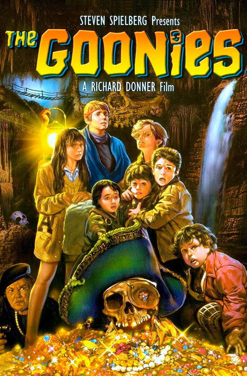 The Goonies movie poster from 1985