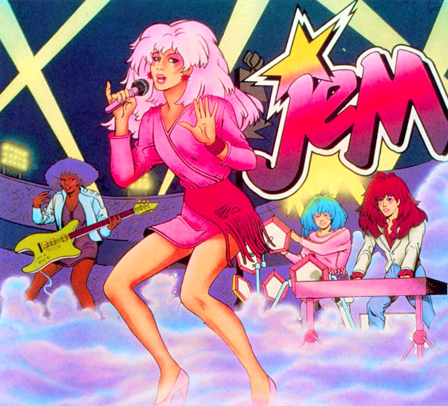 80s Costume Idea Jem - Totally Outrageous  Like Totally 80s