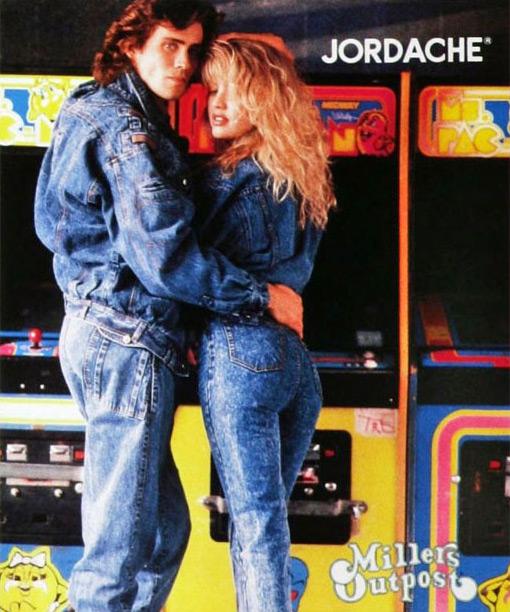 Jordache Jeans ad