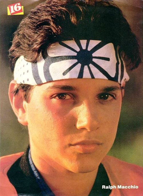 Ralph Maccio as Daniel LaRuss in The Karate Kid