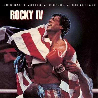 "Rocky IV soundtrack featuring Kenny Loggins' ""Double or Nothing."""
