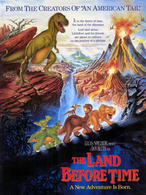 The Land Before Time, 1988 movie poster