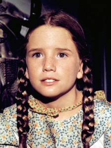 Laura Ingalls played by Melissa Gilbert