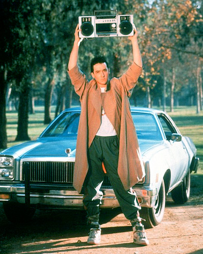 Say Anything's Lloyd Dobler 80s costume idea