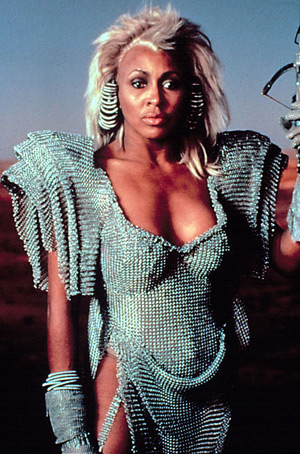 Tina Turn in Mad Max Beyond Thunderdome