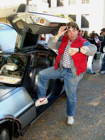 Marty McFly Costume (Photo Credit: Steven Kirk)