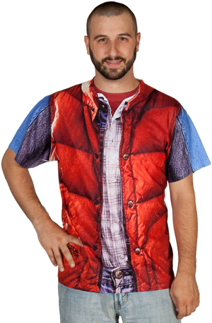 Marty McFly costume t-shirt