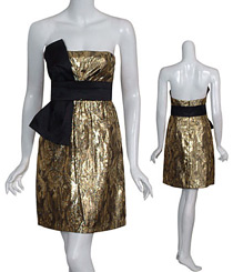 Metallic dress by Stylebug.com