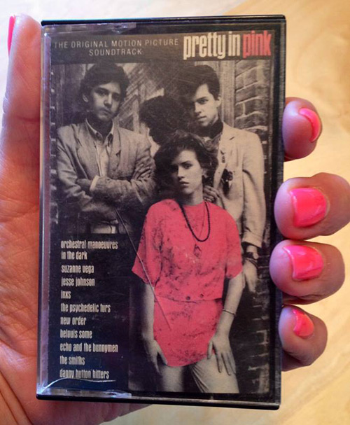 Pretty in Pink cassette tape