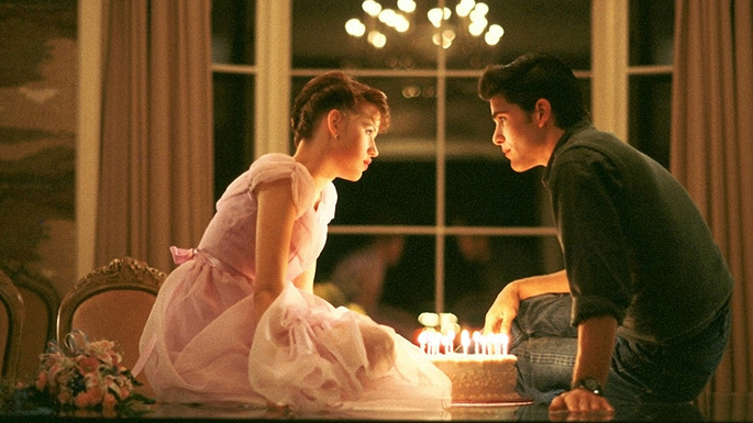 16 Candles: Samantha Baker (Molly Ringwald) & Jake Ryan (Michael Schoeffling)