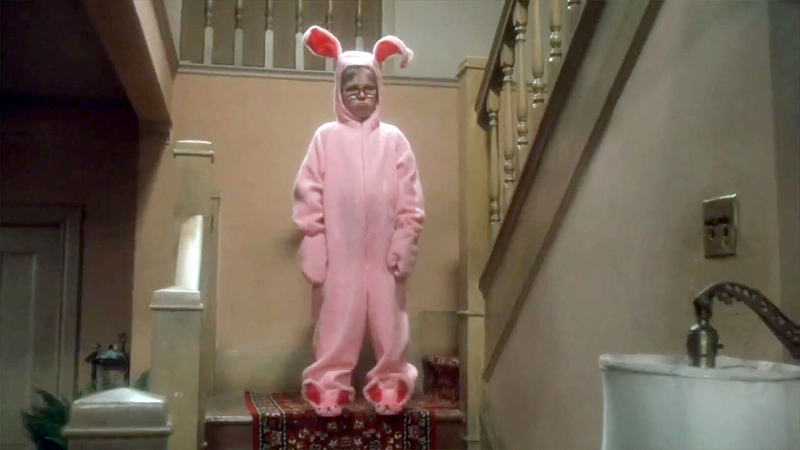 Image result for ralphie bunny suit