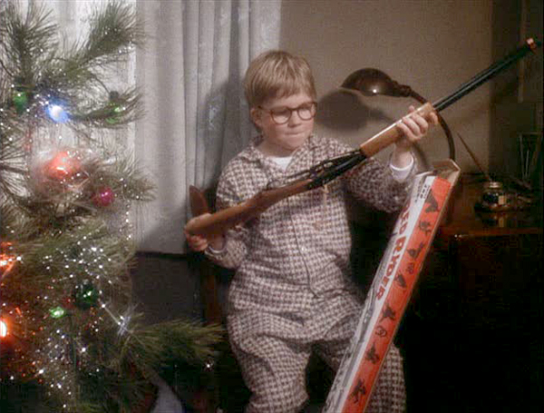 Christmas Morning Ralphie costume idea