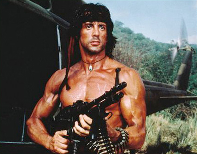 John Rambo 80s Costume Idea
