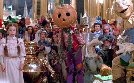 Dorothy, Tik-Tok, Jack Pumpkinhead & Scarecrow