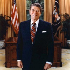 Ronald Reagan Mask and Costume