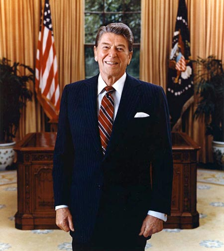 Ronald Reagan Mask and Costume | Like Totally 80s