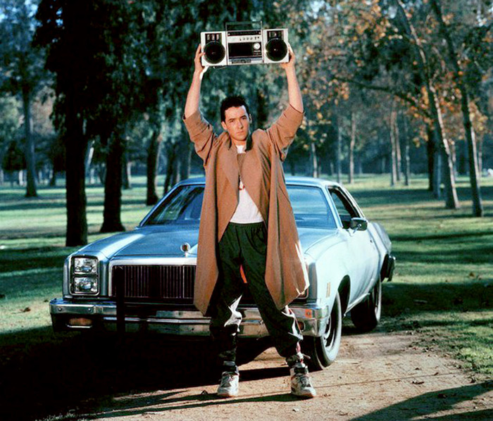 Iconic boombox sceen from Say Anything