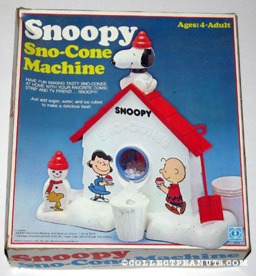 Snoopy Sno-Cone Machine Box