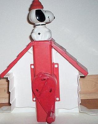 Snoopy Sno-Cone Machine Hand Crank