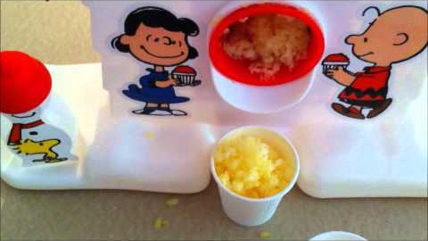 Snoopy Sno-Cone Machine Treats