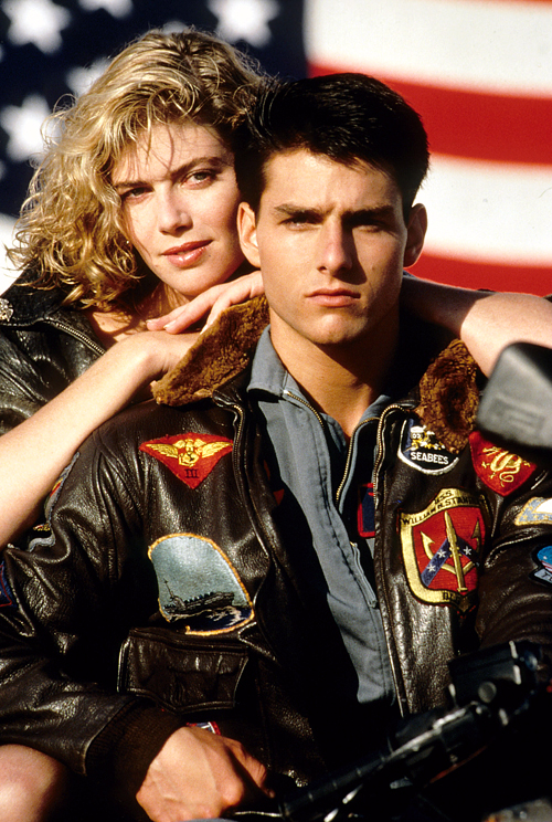 Top Gun's Kelly McGillis & Tom Cruise