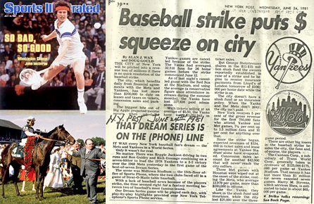 1981 Sports Highlights
