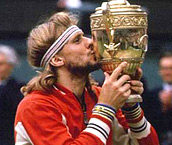 1983 - Björn Borg retires from tennis after winning 5 consecutive Wimbledon championships