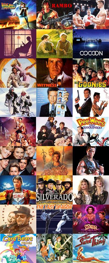1985 Movies