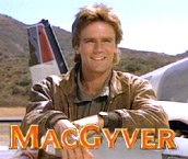 1985 - MacGyver begins airing on TV
