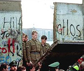 1989 - The Berlin Wall, an iconic symbol of the Cold War that divided East and West Berlin for 28 years, finally came down on November 9th.