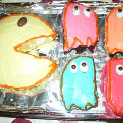 80s Party Planning Story: Pac-Man Cake