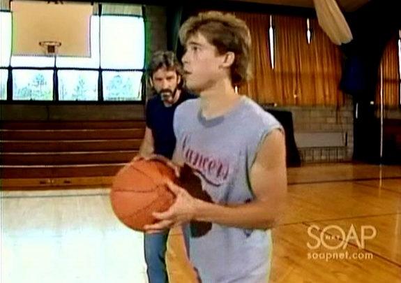 Brad Pitt as Chris on Another World