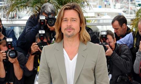 Brad Pitt (photo credit: Anthony Harvey/Photoshot)
