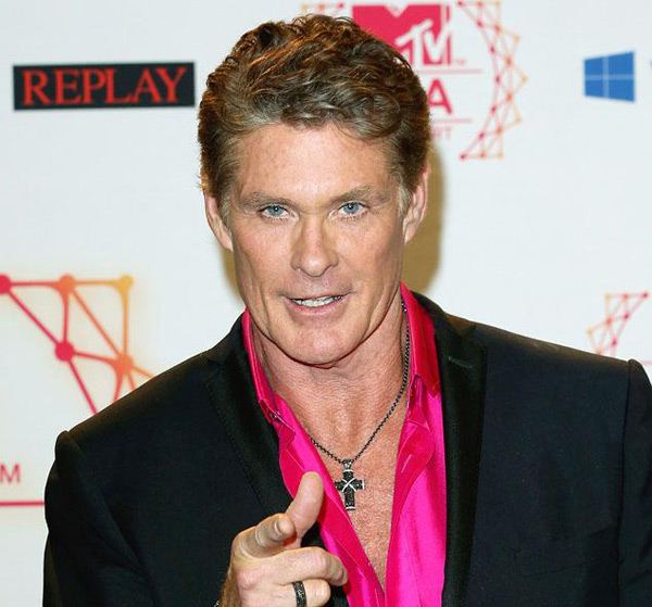 David Hasslehoff (photo credit: Tim Whitby/Getty Images for MTV)