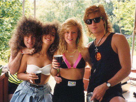 summer in the late 80s