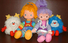 Rainbow Brite, Shy Violet, and Sprites