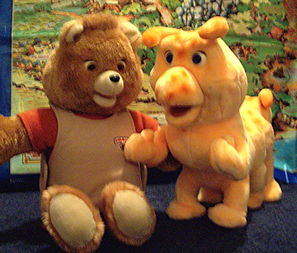 Teddy Ruxpin and Grubby