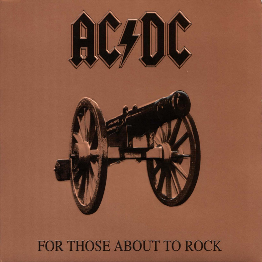 AC/DC's For Those About to Rock, We Salute You album