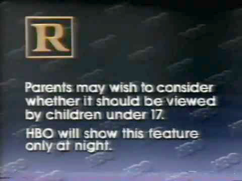 HBO's Rated R Warning