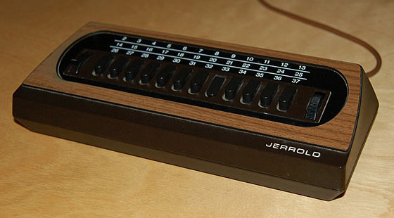 Jerrold cable box