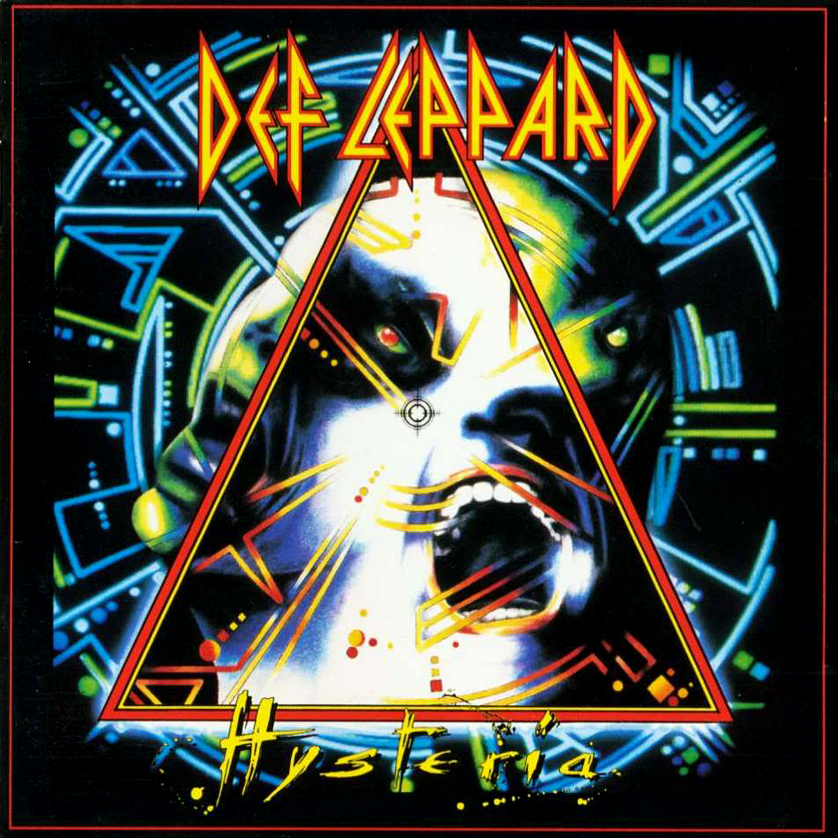 Def Leppard's Hysteria released in 1987