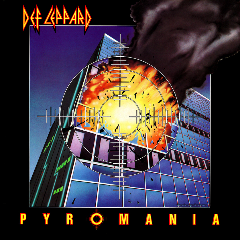 Def Leppard's Pyromania album released in 1983
