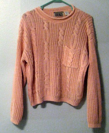 Forenza chunky cable-knit roll-neck sweater